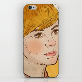 Carey Mulligan iPhone Skin