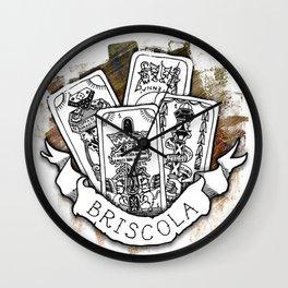 Briscola Wall Clock