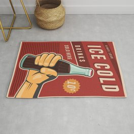 Ice Cold Drinks Rug