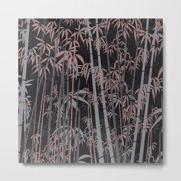 Bamboo X Metal Print