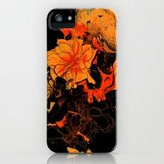 Pollination Dark Fire Slim Case iPhone (5, 5s)