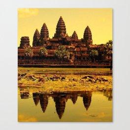 Ankor Wat Canvas Print