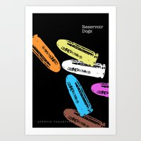 reservoir dogs Art Prints featuring Reservoir Dogs by Brian Walker