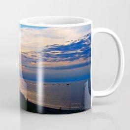 Sunset Balcony silhouette Coffee Mug