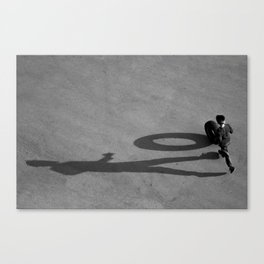 Shadow of child Canvas Print