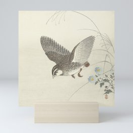 Flying quail - Ohara Koson (1900-1930) Mini Art Print