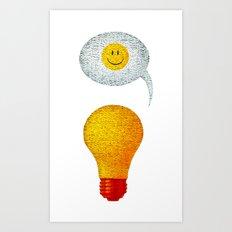 Happy Ideas!  Art Print