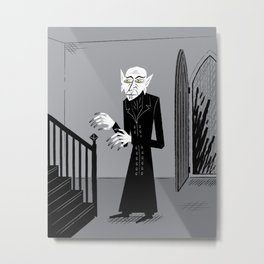 The Halloween Series - Nosferatu Metal Print