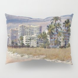 Marco Island, Florida South Seas Impressionist Painting Pillow Sham