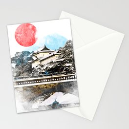 Japan, Tokyo - Imperial Palace Stationery Cards