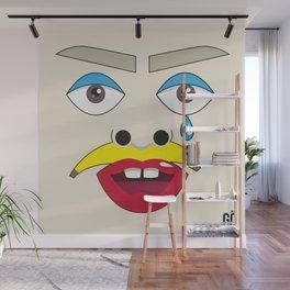 MIRRÖR - Selfportrait Wall Mural