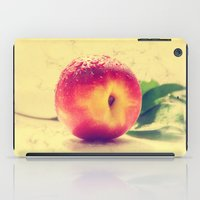 peach iPad Cases featuring Peach  by Tanja Riedel
