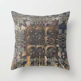 Stepchild of postmasters Throw Pillow