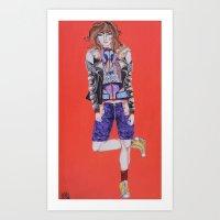 Neon Beast #4 Art Print