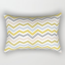 Wacky Zigzag Rectangular Pillow