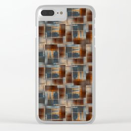 Mosaic Tiled Clear iPhone Case