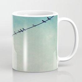 stepping out of line Coffee Mug