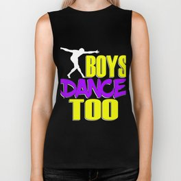 Awake your locomotive side! Perfect for a dancer and move-addict boy like you!Even Boys dance too! Biker Tank