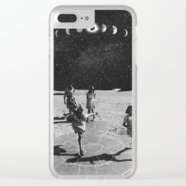 Eclipse Street Games Clear iPhone Case