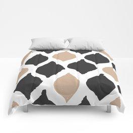 twocolors pattern Comforters