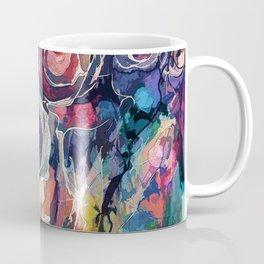 Wild Flowers Abstract Coffee Mug