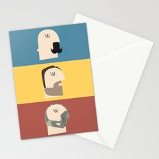 3 Faces of Tom Hardy Stationery Cards