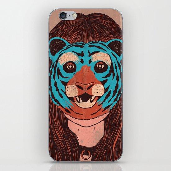 Tiger Face iPhone & iPod Skin