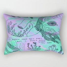 i know Rectangular Pillow