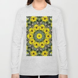 Sunflowers and Bees Long Sleeve T-shirt