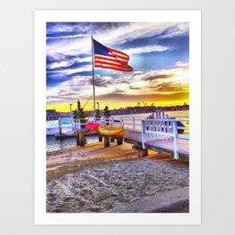 American Made  Art Print