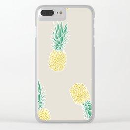 ananas za marinu 2 Clear iPhone Case