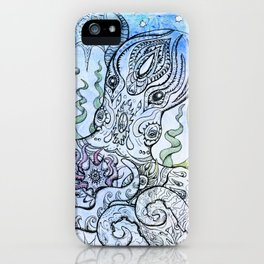 Starry Octopus iPhone Case