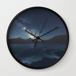 Milky Way Seacoast Wall Clock