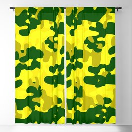 Camouflage (Yellow) Blackout Curtain