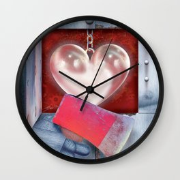 The Oz Suite - the Tin Man Wall Clock