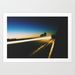 Low Light Art Print