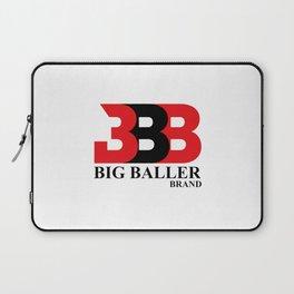 Big Baller Brand in red black Laptop Sleeve