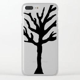 Tentacion tribute tree. Clear iPhone Case