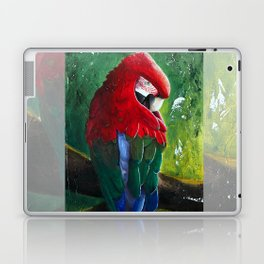 "Aras parrot - ""A morning like the others"" - by LiliFlore Laptop & iPad Skin"