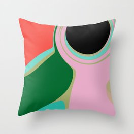 Vintage Drain Throw Pillow