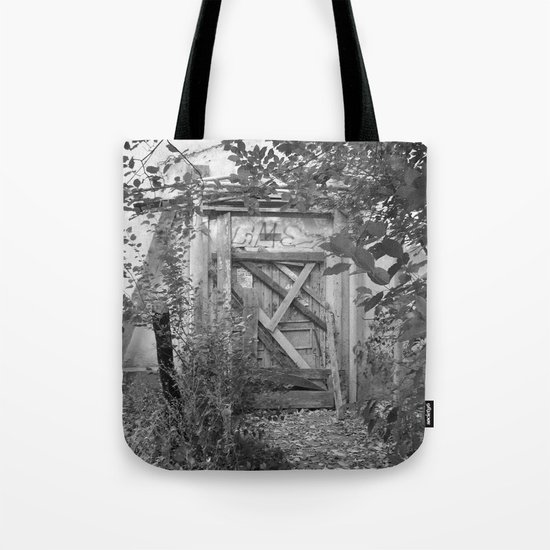 """Door to the deep down """"LIME"""" Tote Bag"""