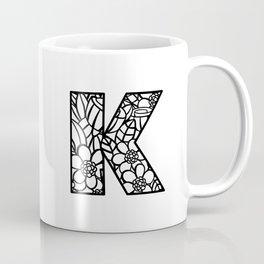Letter K Coffee Mug