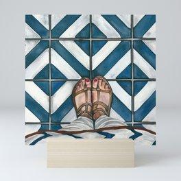 Art Beneath Our Feet - Cabarita Beach, Australia Mini Art Print