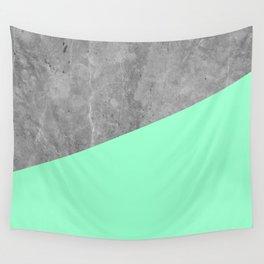 Geometry 101 Mint Meringue Wall Tapestry