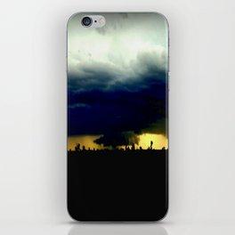 Wall Cloud  iPhone Skin