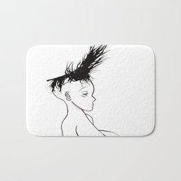 Hair 1 Bath Mat