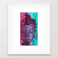 zen Framed Art Prints featuring Zen by Rishi Parikh