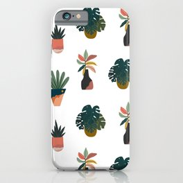 Grow Your Own Way (White) iPhone Case