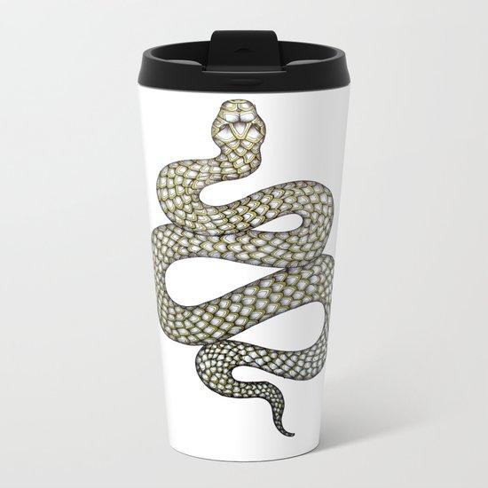 Snake's Charm Metal Travel Mug