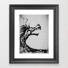 cool sketch 126 Framed Art Print